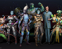 Characters for Starfinder