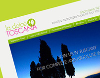 LA DOLCE TOSCANA: a travel design web portal
