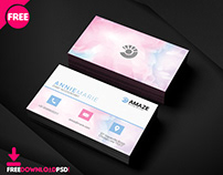 Accountant Bussiness Card PSD Template