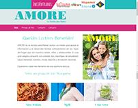 Sitio Web www.amorerevista.com