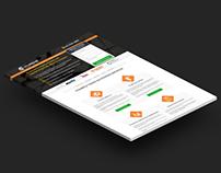Obra Regular - Landing Page
