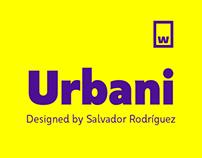 Urbani – Typefamily