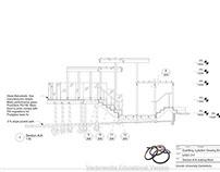 Construction details decking and pergola