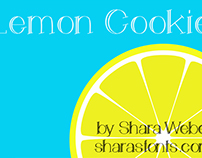 The FREE Lemon Cookie Font