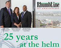 RhumbLine 25th Anniversary Ad