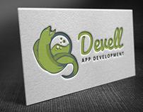 Freebie - Logo Template DevEll (Green Moray Ell)