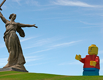 "Lego Mans ""Attack"""