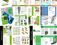 Catálogos y libros de productos