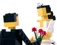 LEGO Cake Top