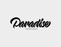 Paradise Paintings Logo Design