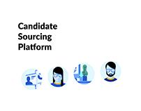 Candidate sourcing platform
