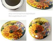 Artist Print Buttons