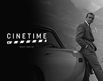 Cinetime Logo Design
