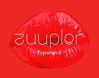 Zuupler Typeface