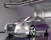 AUDI RS3 SPORTBACK CGI RENDERS