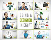 BEING A DESIGNER IN EGYPT