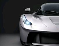 White La Ferrari