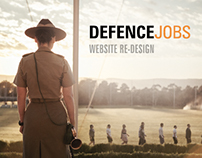 Defence Jobs Australia Website Redesign