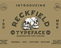 FREE ROUGH FONT RECFIELD