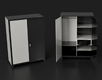 3D Model : Cabinets