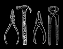 Tools Tattoo Illustrations