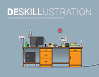 Desk Illustration - Representing Memories
