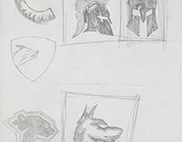 Wolf/Spartan Helmet