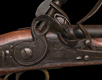 Flintlock Cavalry Pistol 1830 -1837