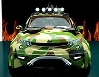 Azerant L200 | Concept car Project