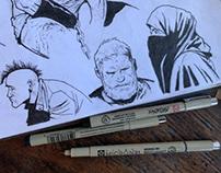 WEEKLY INK & SKETCH DUMP