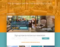 Domizzil Real Estate - Web Design 2015