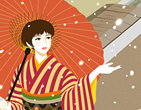 Female Illustration - Japanesque