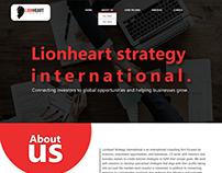 Website mockup design