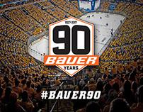 Bauer 90th Anniversary Campaign