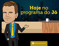 Caricatura Eduardo para Página oficial do Facebook
