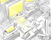 매일그리기 *daily drawing