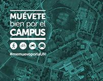 Campaña                      Muévete bien por el Campus