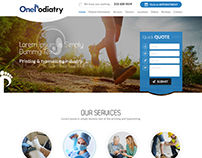 Latest healthcare website design from Nexstair