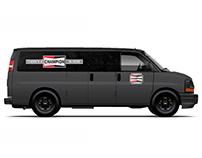 Champion Auto Parts Vehicle Wrap Concepts