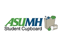 ASUMH Student Cupboard Logo and Poster
