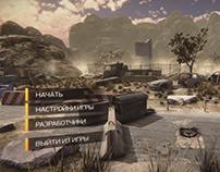 Nuclear Village Game Menu
