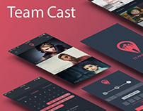 Team Cast - UX/UI