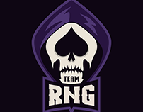 TEAM RNG - Esports Mascot Logo Design