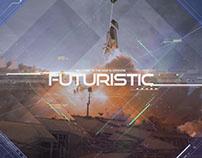 Futuristic Parallax Slideshow
