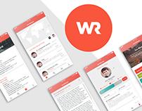 The World Race Blog App