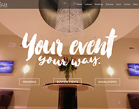 The Falls Event Center homepage video background