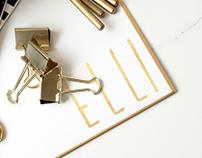 """Elli"" Fashion Branding Project"