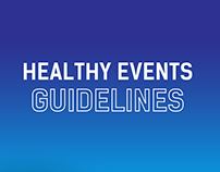Healthy Events Guidelines - Guide and illustrations