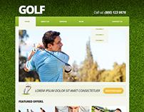 Golf Club Joomla Template