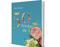 'Pétalas de Amor' - Book Cover Design/ Illustration